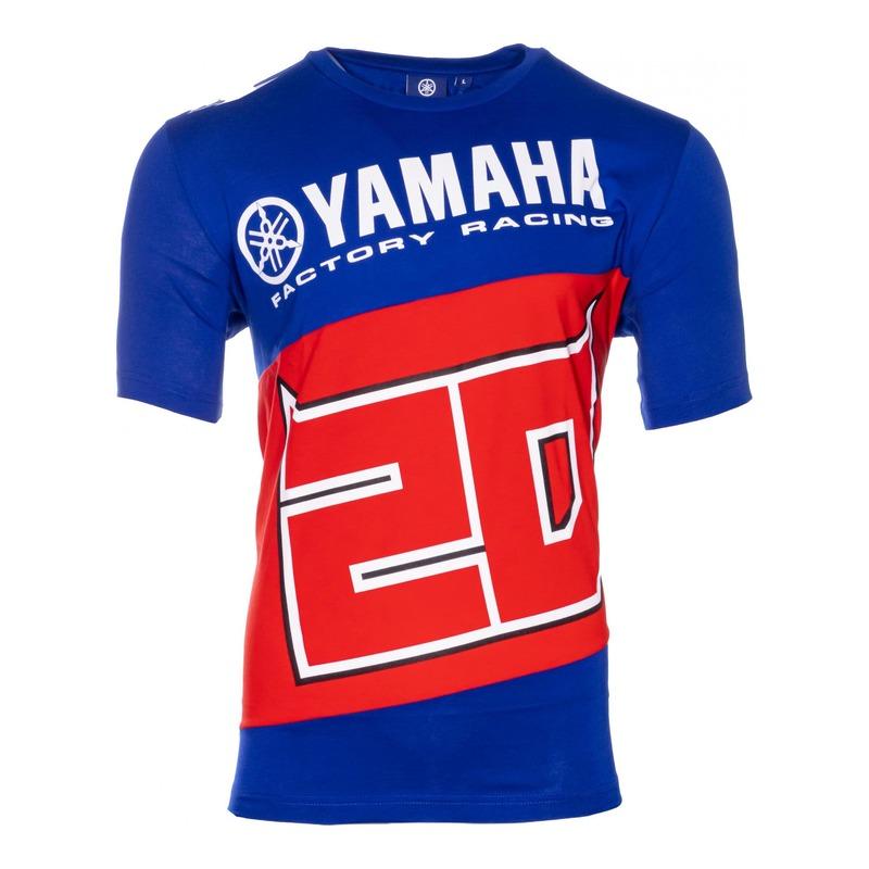 Tee-shirt Dual Yamaha Fabio Quartararo 20 bleu/rouge