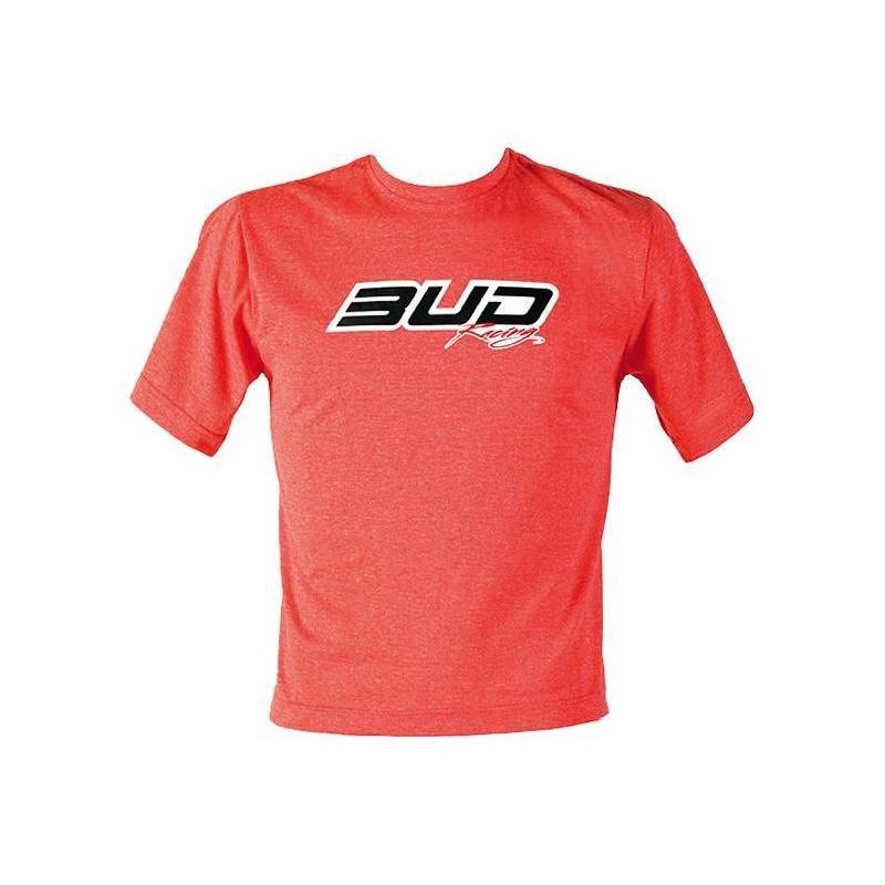 Tee-shirt enfant Bud Racing Logo heather red