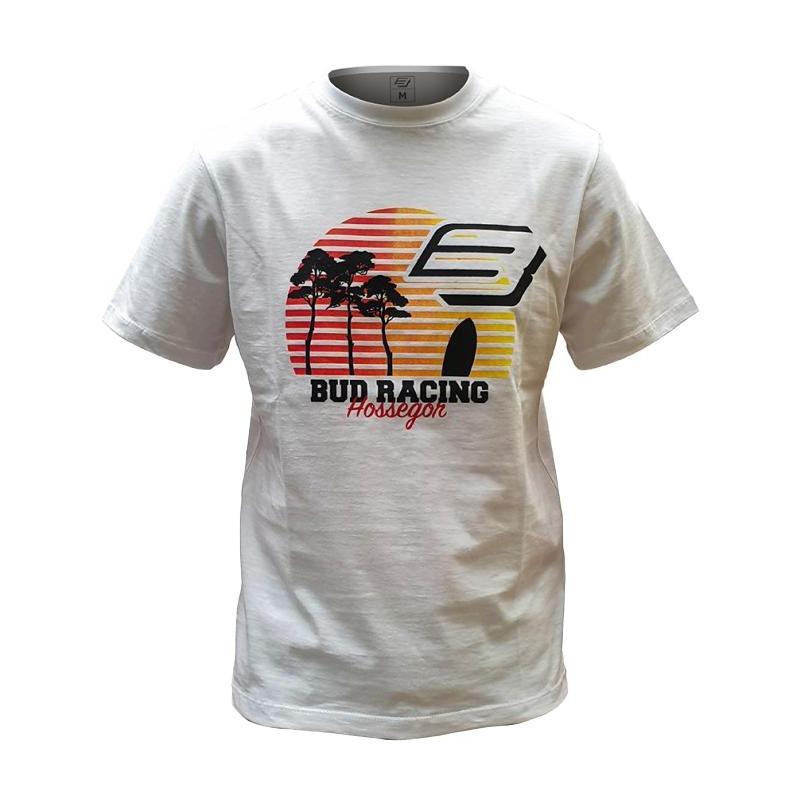 Tee-shirt enfant Bud Racing Sunset blanc