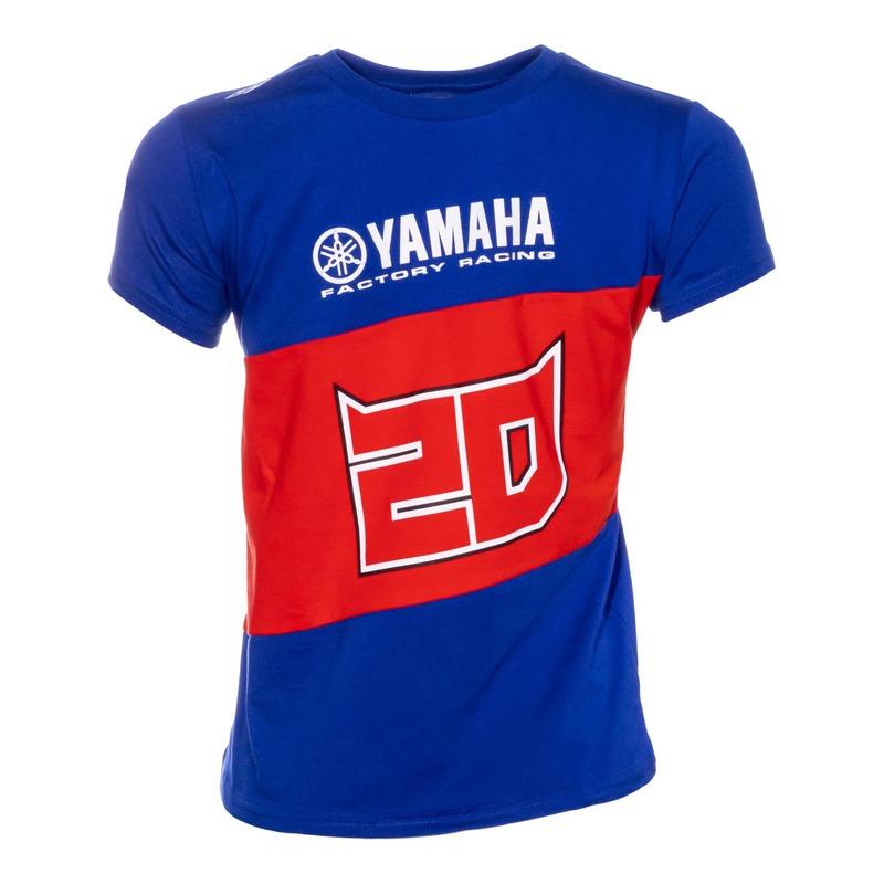 Tee-shirt enfant Dual Yamaha Fabio Quartararo 20 bleu/rouge