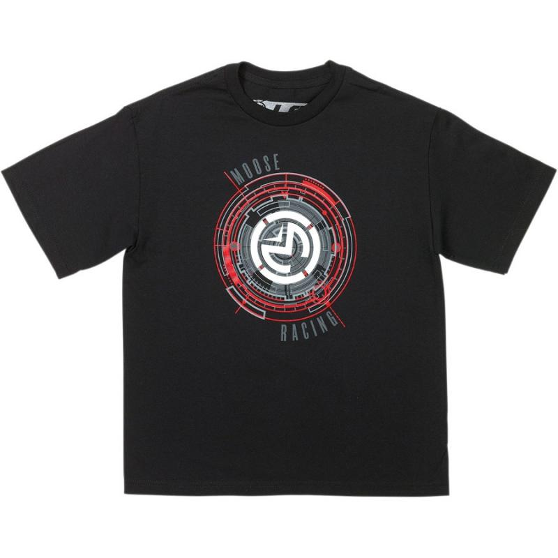 Tee-shirt enfant Moose Racing Radius noir