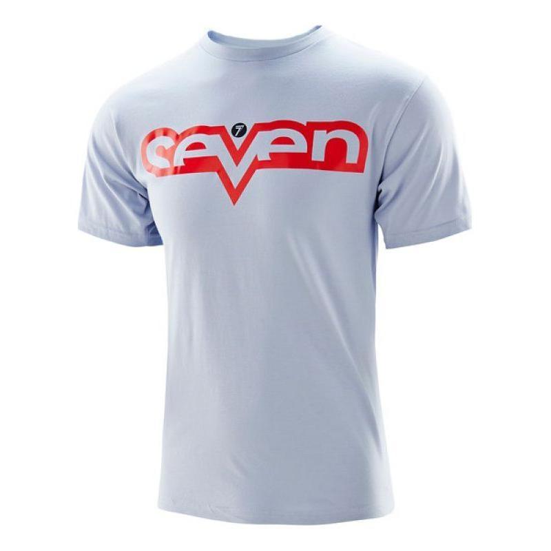 Tee-shirt enfant Seven Brand argent/rouge