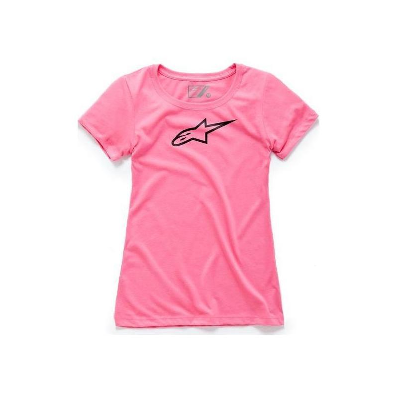 Tee-shirt femme Alpinestars Ageless rose