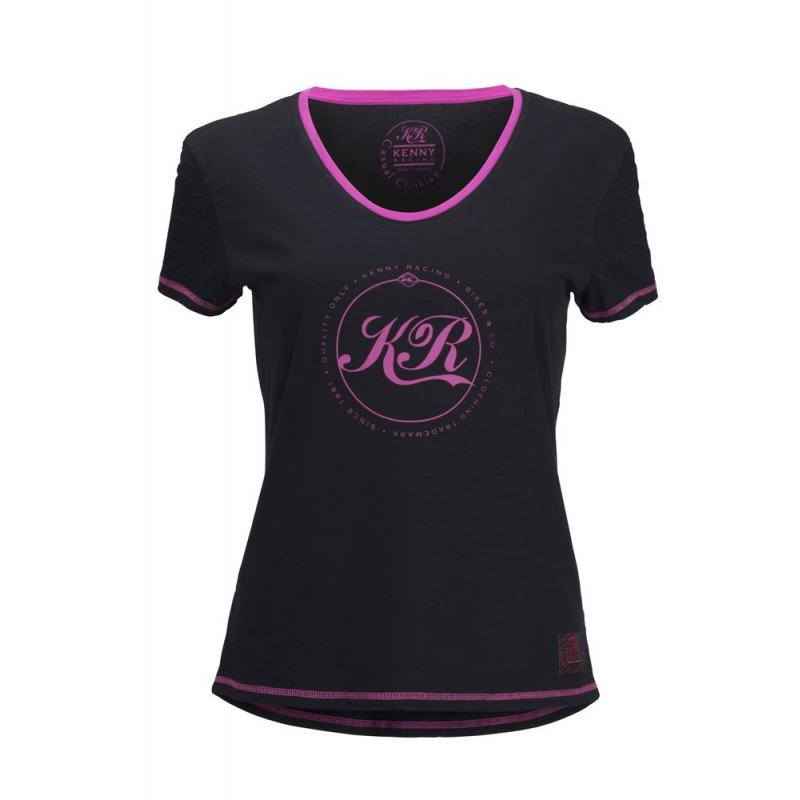 Tee-shirt femme Kenny KR rose
