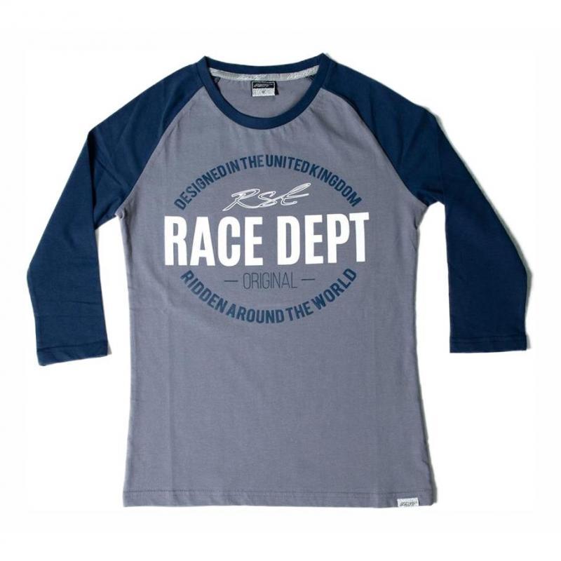 Tee-shirt femme RST Original 1988 gris/bleu
