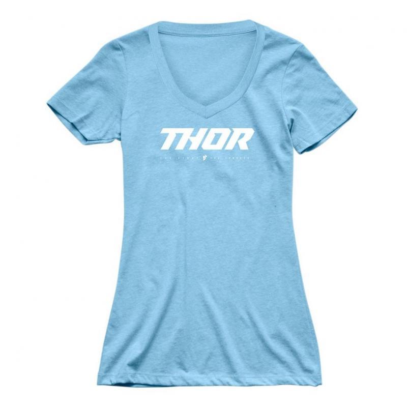 Tee-shirt femme Thor Loud bleu clair
