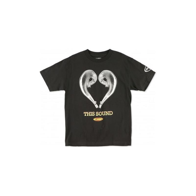 Tee-shirt FMF Love Sound noir