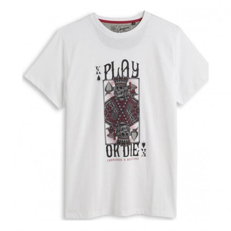 Tee-shirt Helstons Chevignon Play blanc