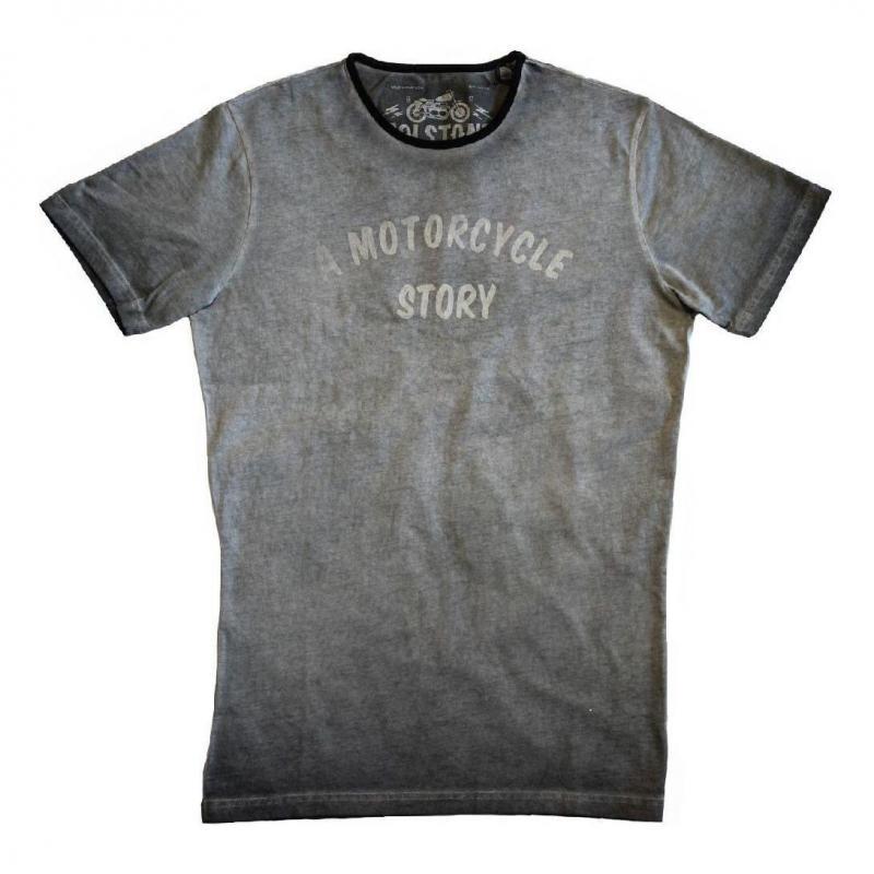 Tee-shirt Helstons Story gris