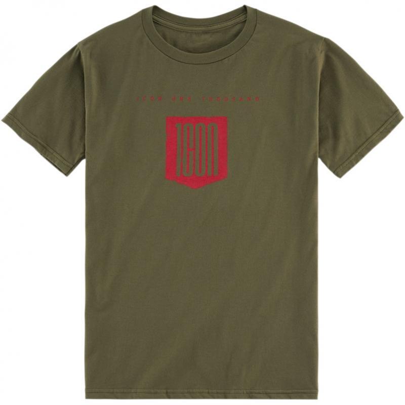 Tee-shirt Icon 1000 Baseline olive
