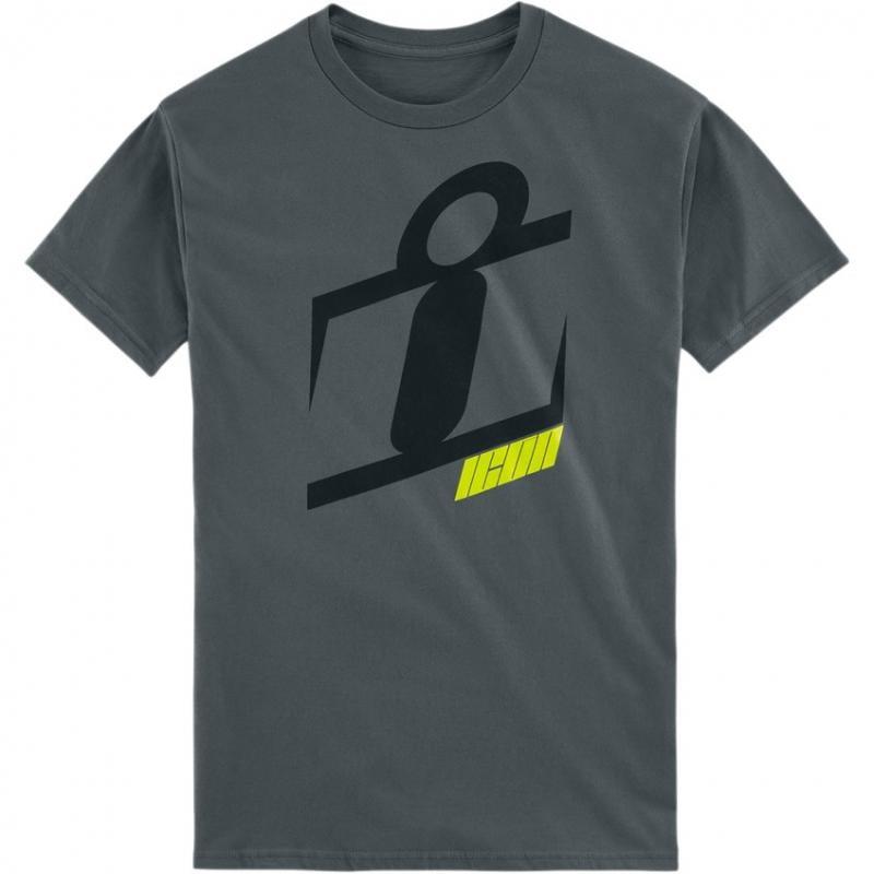 Tee-shirt Icon Neo Slant gris