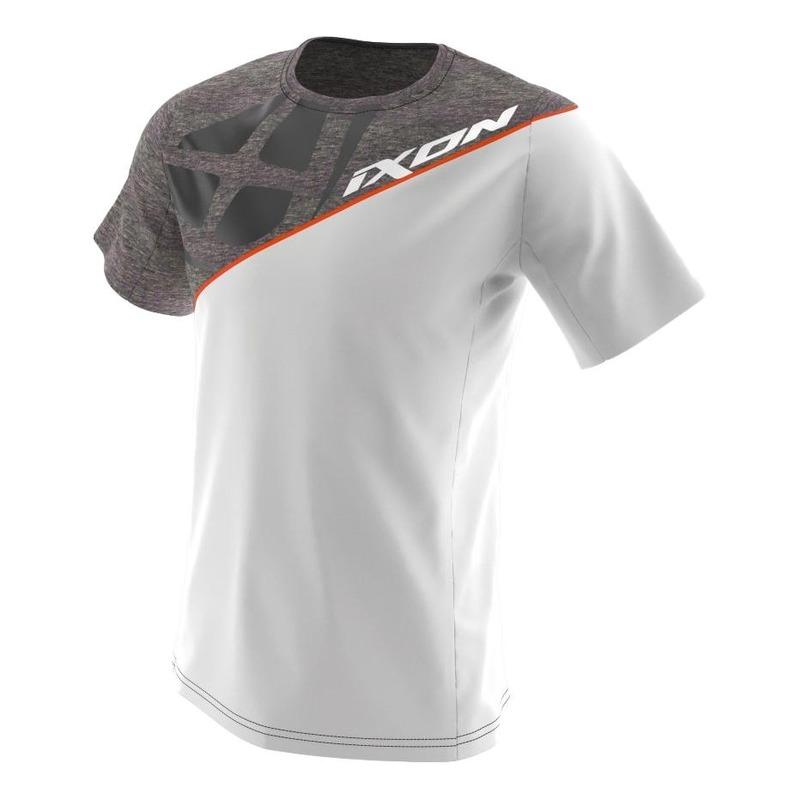 Tee-shirt Ixon Faster gris/blanc