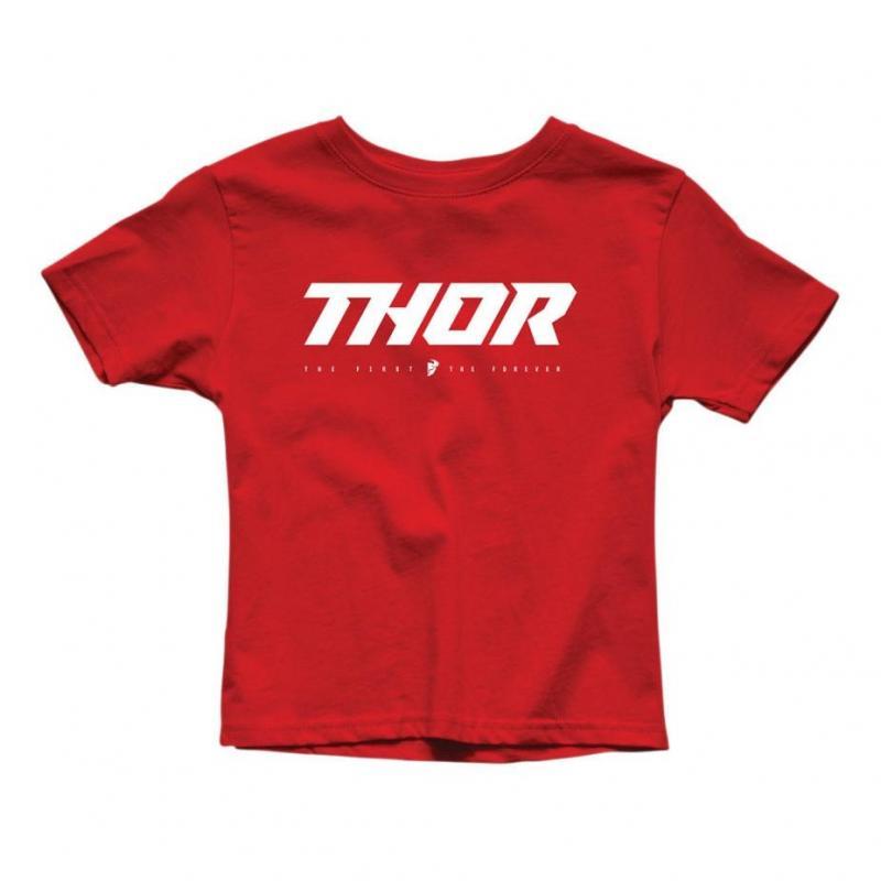 Tee-shirt junior Thor Loud 2 rouge