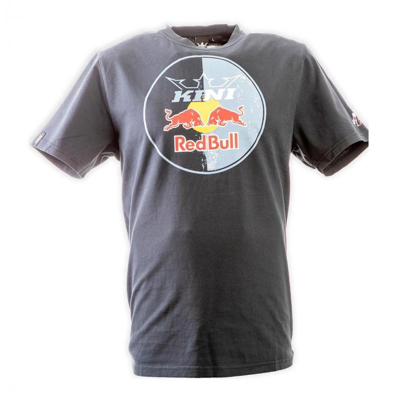 Tee shirt Kini Red Bull Circle antharcite