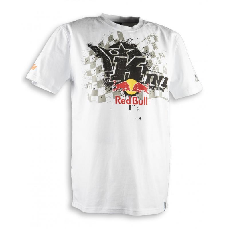 Tee-shirt Kini Red Bull Overspray blanc
