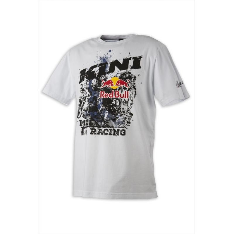 Tee-shirt Kini Red Bull Underworld blanc