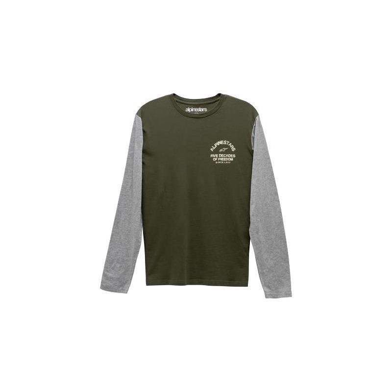 Tee-shirt manches longues Alpinestars Decades premium military