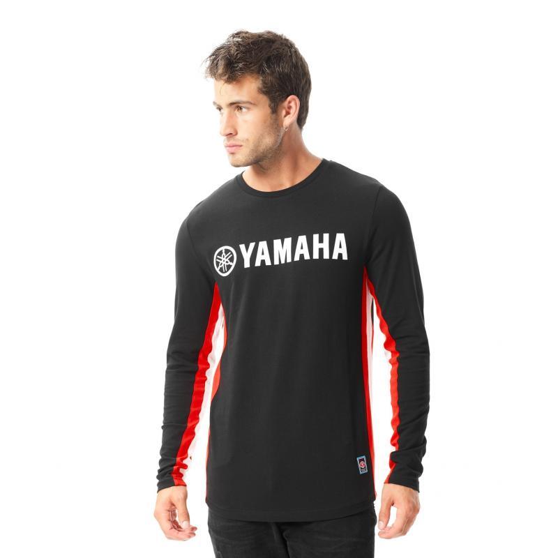 Tee-shirt manches longues Yamaha Outsiders noir