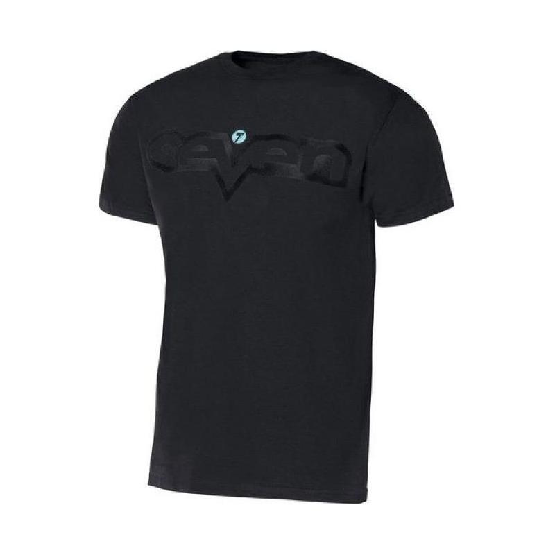 Tee-shirt Seven Brand noir/noir