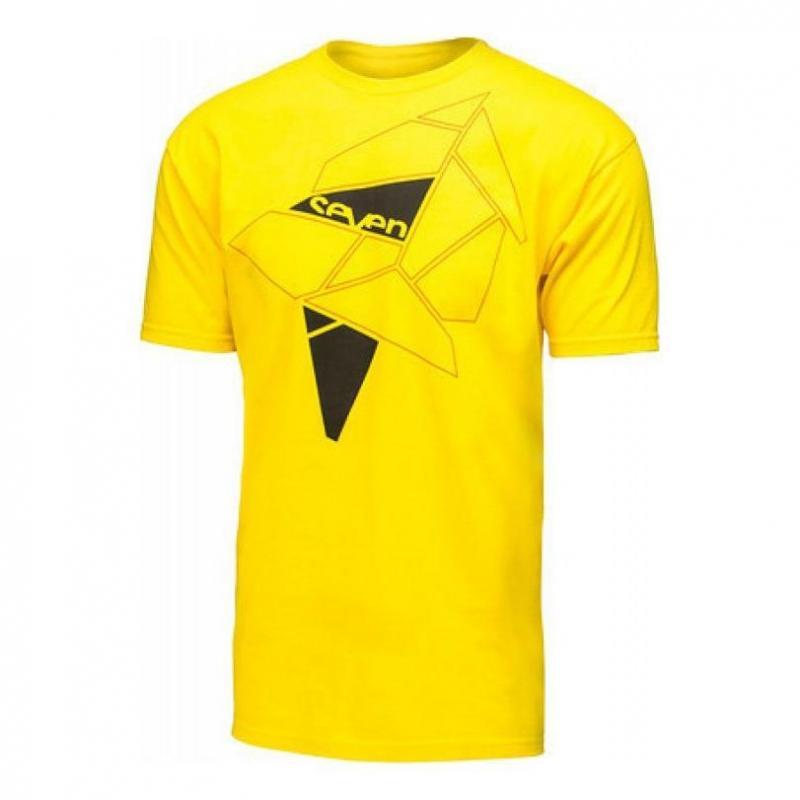 Tee-shirt Seven Geo tee shirt jaune