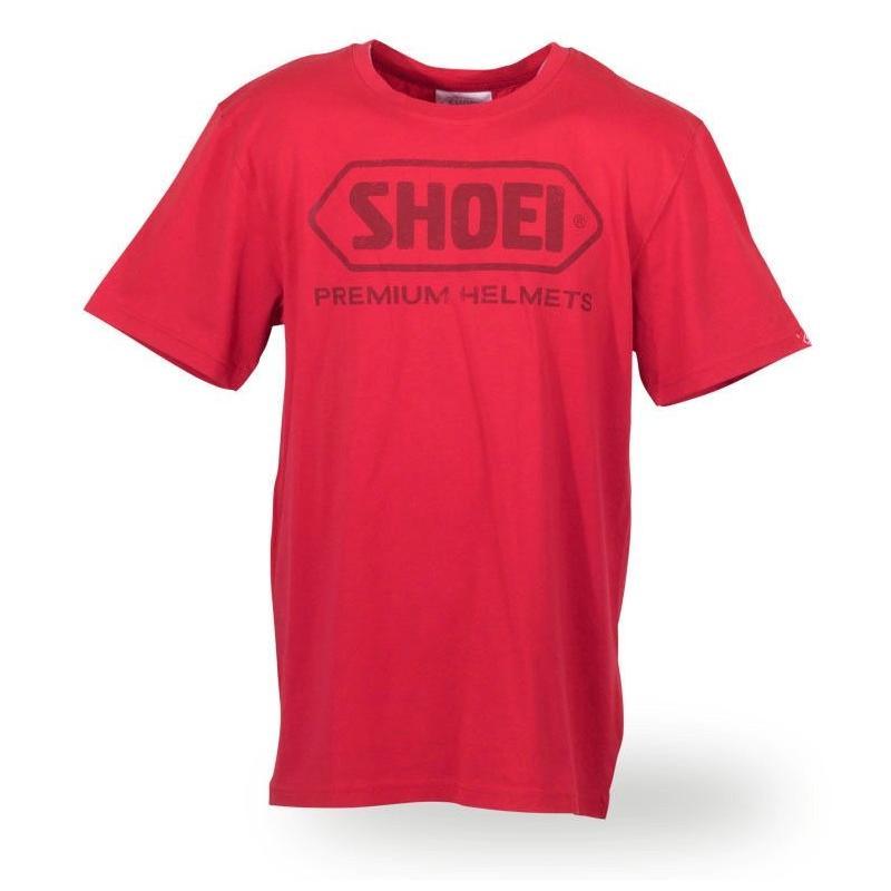 Tee shirt Shoei rouge
