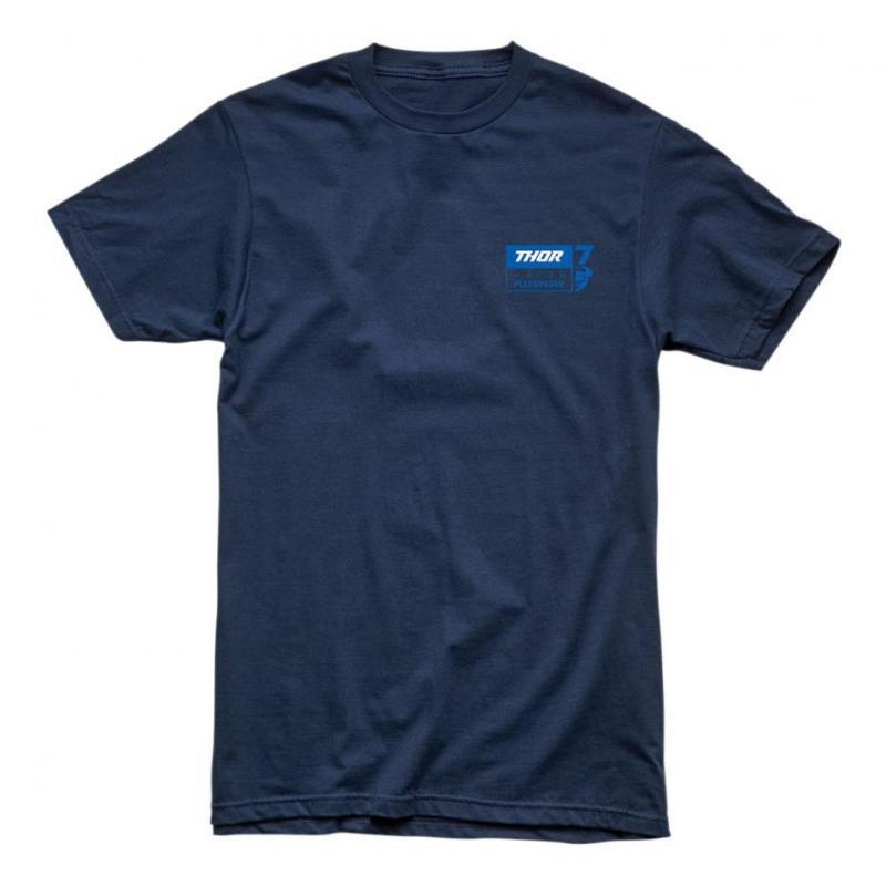 Tee-shirt Thor Aaron Plessinger 7 bleu foncé