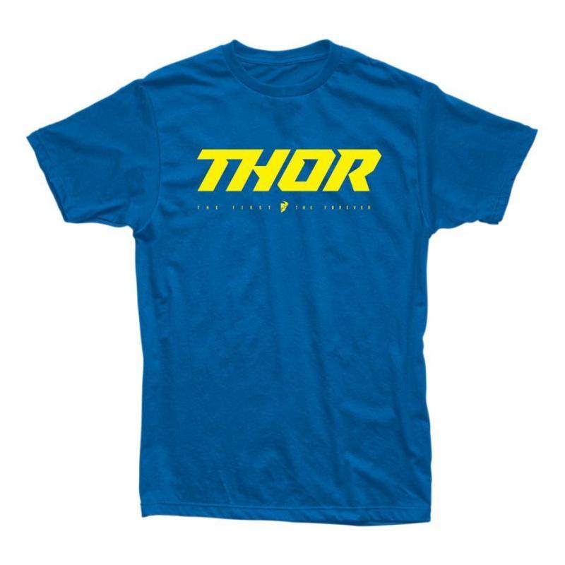 Tee-shirt Thor Loud 2 bleu royal/jaune