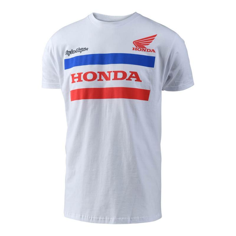 Tee-shirt Troy Lee Designs Honda blanc
