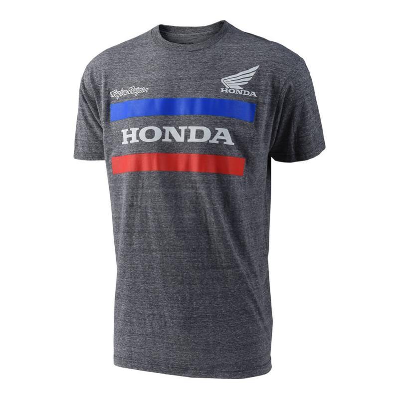 Tee-shirt Troy Lee Designs Honda charcoal