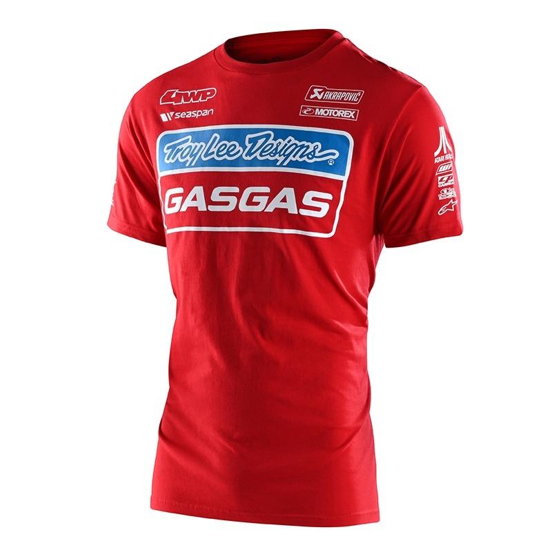 Tee-shirt Troy Lee Designs Team Gas Gas rouge