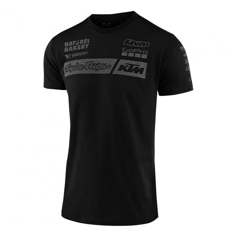Tee-shirt Troy Lee Designs Team KTM 2020 noir