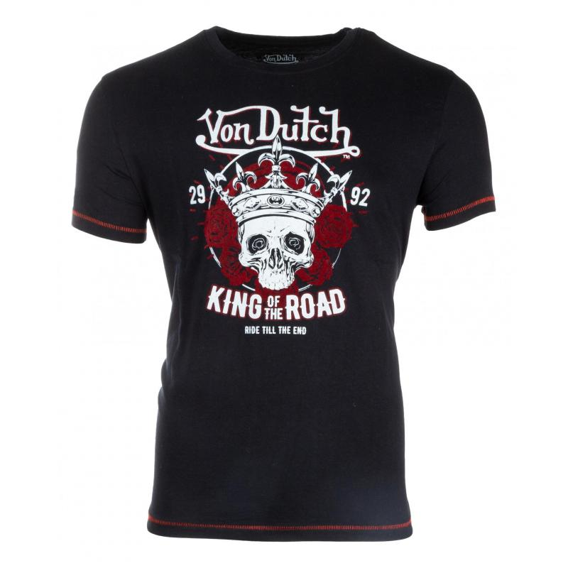 Tee-shirt Von Dutch Road Noir