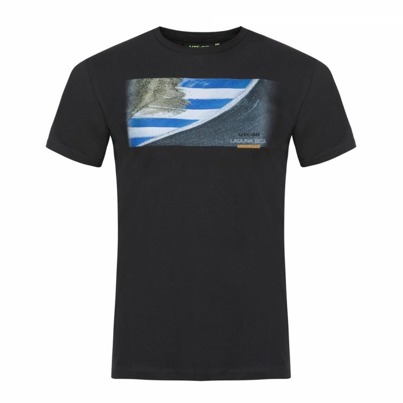 Tee-shirt VR46 Valentino Rossi 2018 Laguna Seca gris