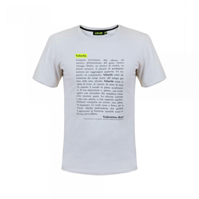 Tee-shirt VR46 Valentino Rossi 2018 Velocità gris