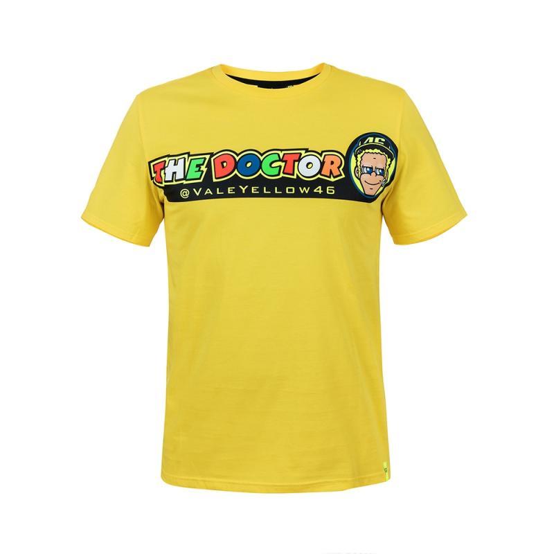 Tee shirt VR46 Valentino Rossi Cupolino jaune 2018