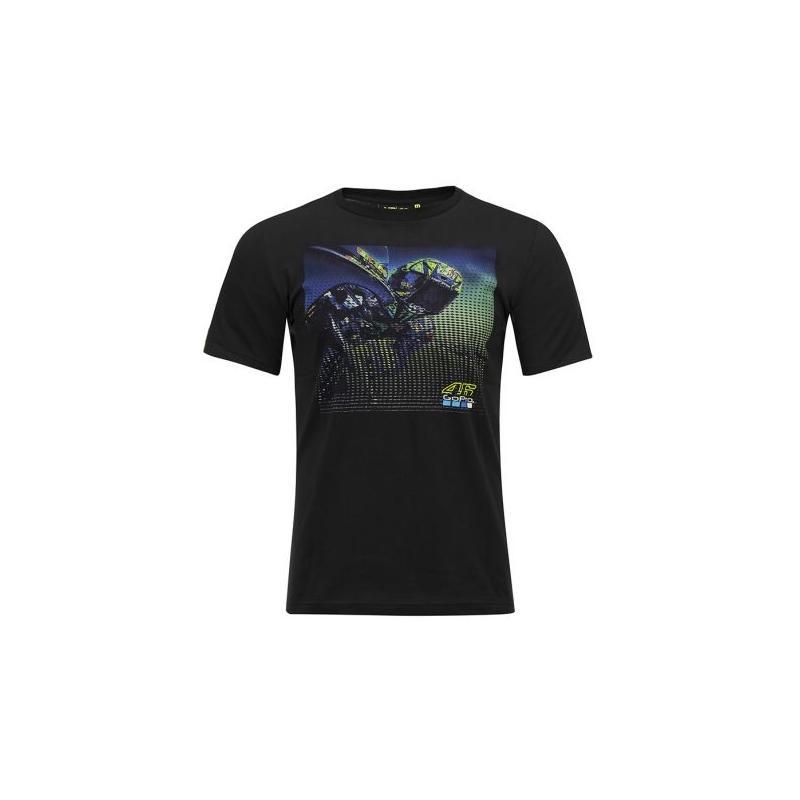 Tee-shirt VR46 Valentino Rossi GoPro black 2019