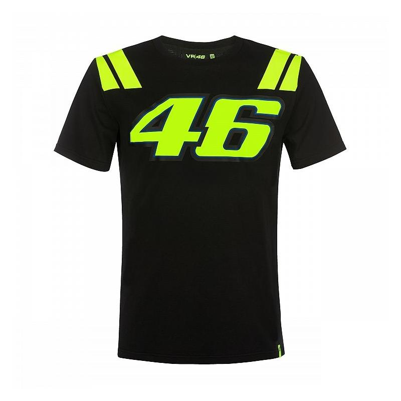 Tee-shirt VR46 Valentino Rossi Race noir 2019