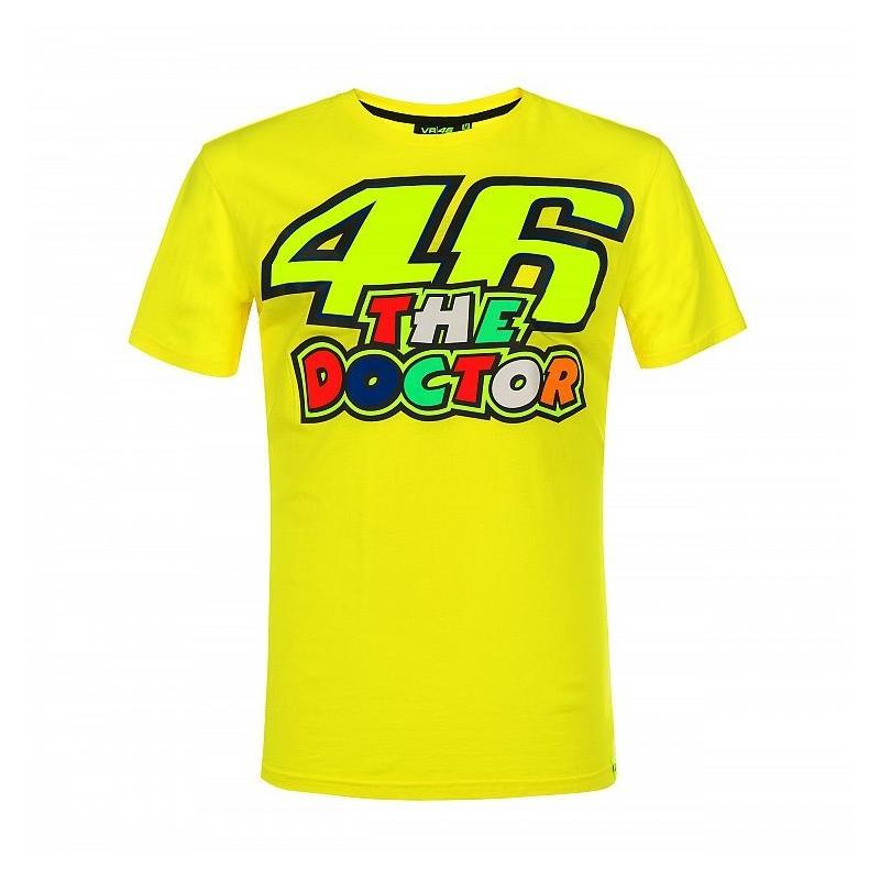 Tee-shirt VR46 Valentino Rossi The Doctor jaune 2019