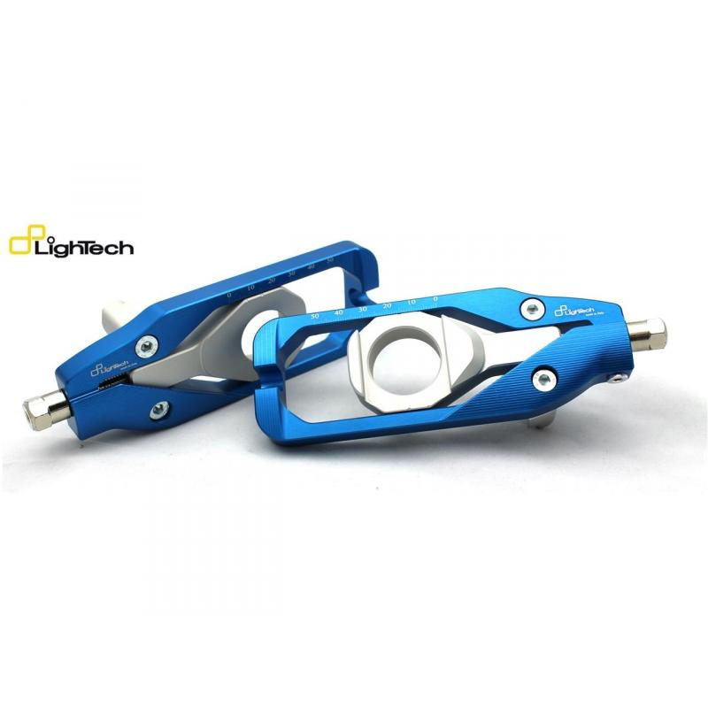 Tendeur de chaîne Lightech bleu pour Yamaha MT-10 16-17