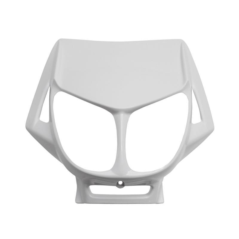 Tête de fourche blanc brillant adaptable derbi senda drd x-treme/x-race