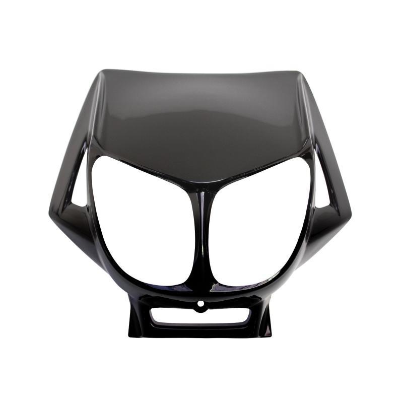 Tête de fourche noir brillant adaptable derbi senda drd x-treme/x-race