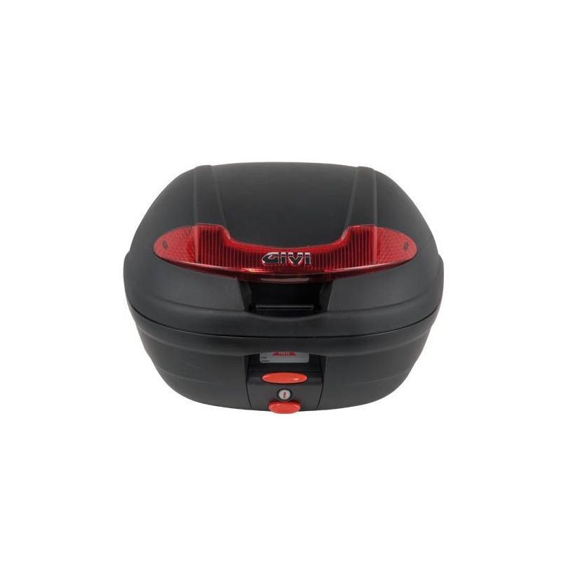 Top case Givi E340 Vision Monolock 34L noir avec platine/kit fixation