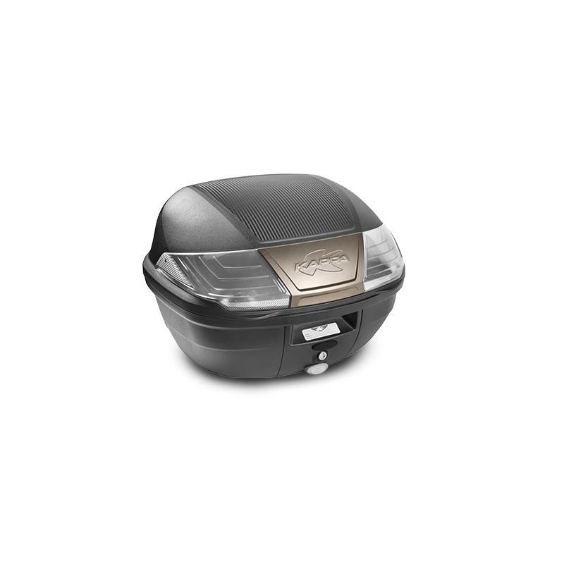 Top case Kappa K400NT Monolock 40 Litres carbone/noir/fumé/titane