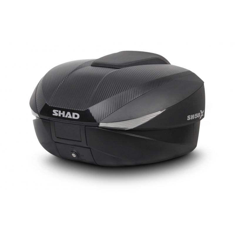 Top case Shad SH58X extensible carbone
