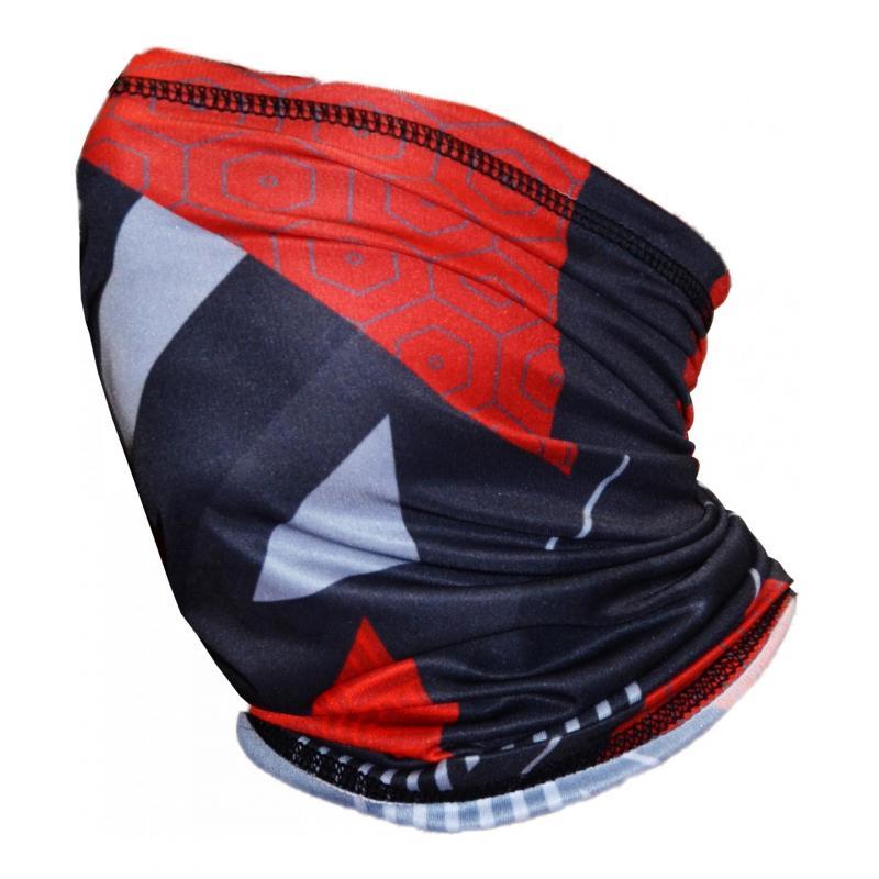 Tour de cou Trendy black-red-shape