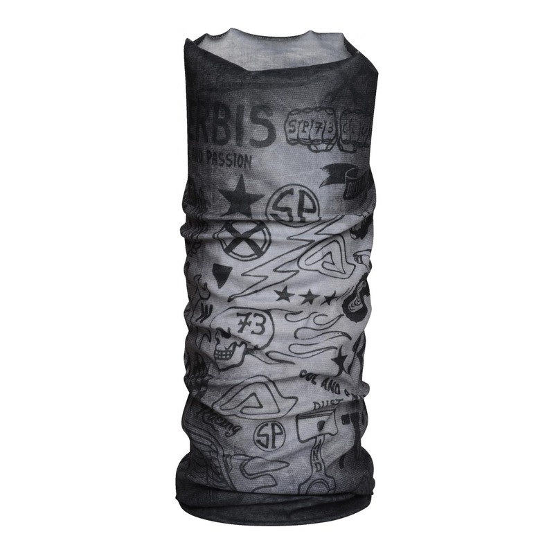 Tour de cou tube Acerbis SP Club Street graphite