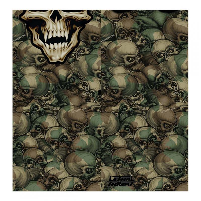 Tour de cou tube Lethal Threat skull multitask camouflage