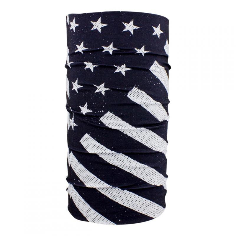 Tour de cou Zan Headgear Tube Flag noir/blanc