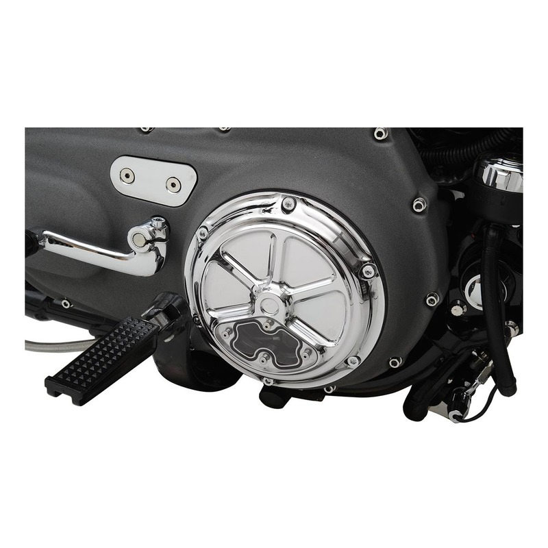 Trappe d'inspection Drag Specialties Harley Davidson Sportster 04-20 chrome