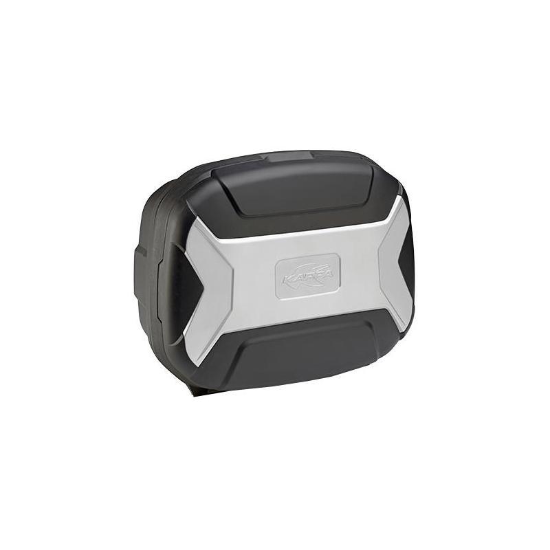 Valise latérale Kappa K-Vector 35 Litres noir/gris